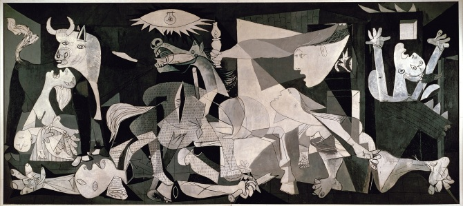 """Guernica,"" Pable Picasso"